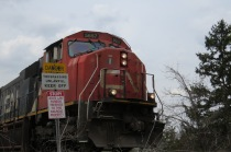 CN Train Northeast Minneapolis